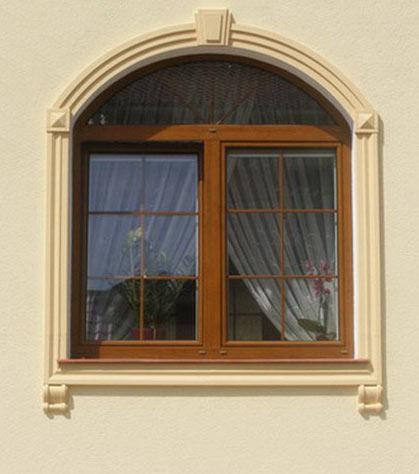 Aranżacja okien - ozdoby okienne - sztukateria