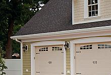 garaż z wykorzystaniem sztukaterii