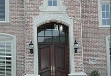 piękna oprawa wejścia- sztukateria na indywidualne zamówienie
