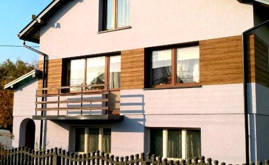 Panele zewnętrzne na dom ceny - Panele zewnętrzne drewnopodobne