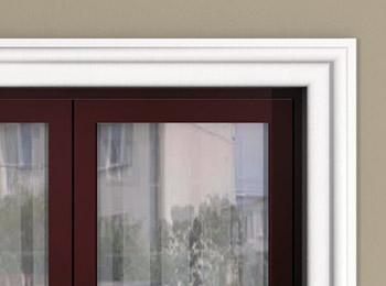 Ozdobne listwy elewacyjne okienne cena