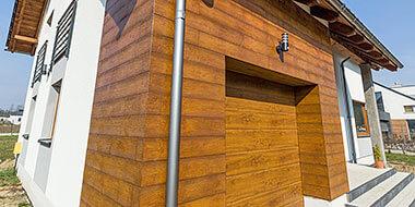 Panele Elewacyjne drewnopodobne - imitacja deski elewacyjnej