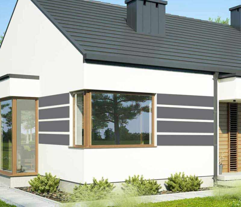 Styropianowe panele elewacyjne zewnętrzne cena