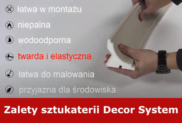 Zalety sztukaterii Decor System