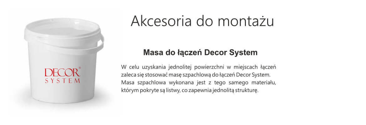 masa do łączeń decor system