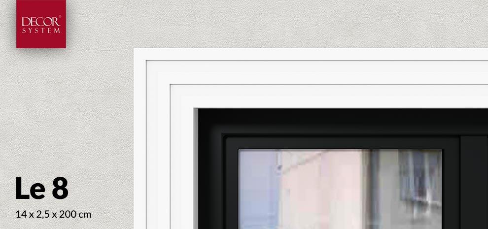 Listwa okienna Le8 stryopianowa