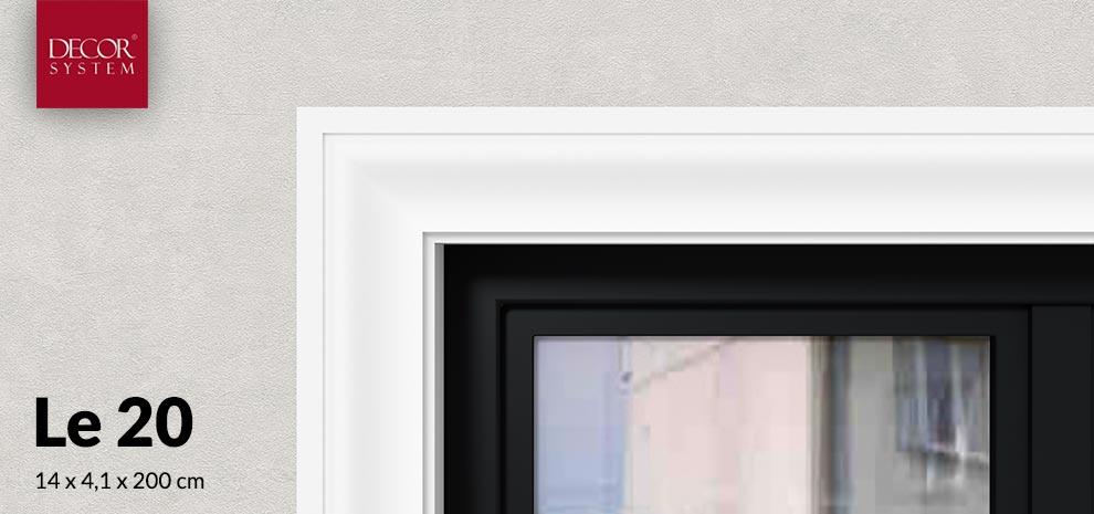 Listwa wokół okienna Le20 Decor System