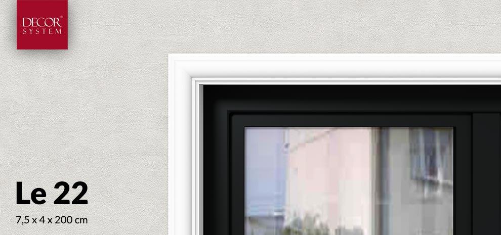 Opaska wokół okna Le22 Decor System