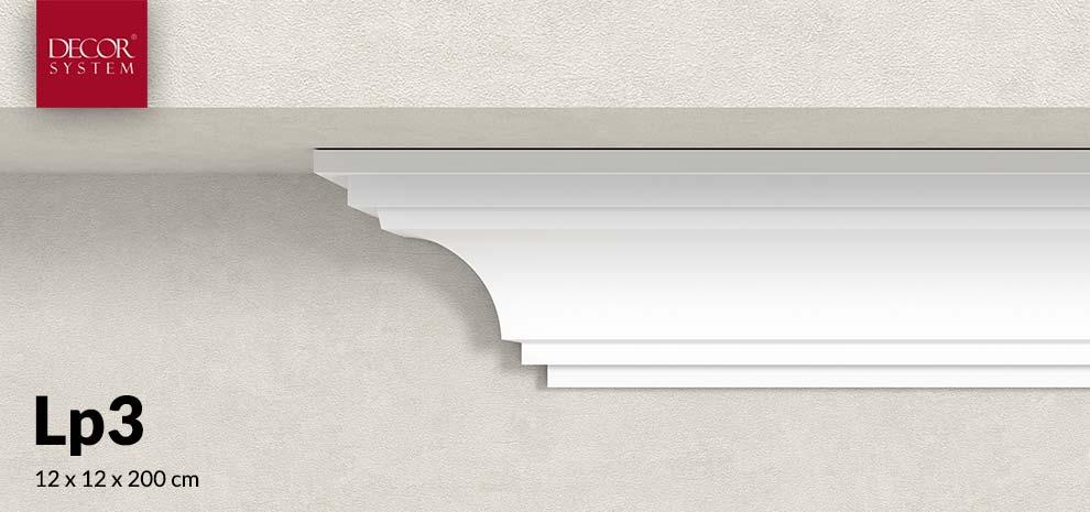 Faseta elewacyjna pod dach 12 cm Lp3