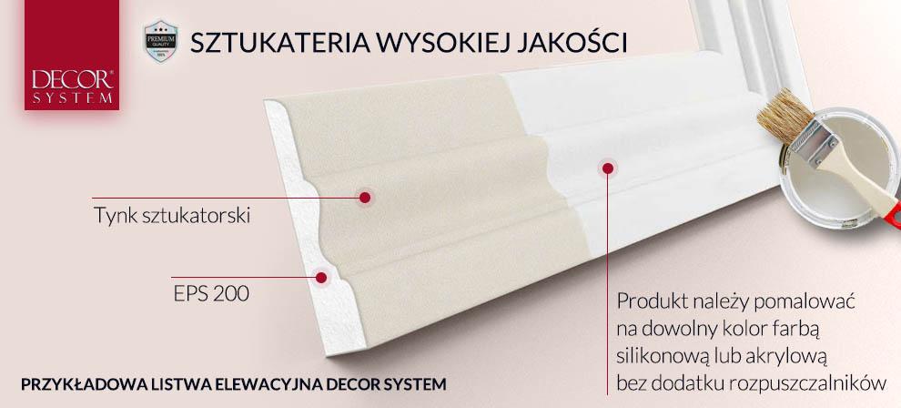 listwy elewacyjne decor system