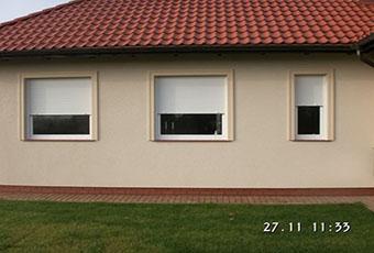 Nowoczesny dom z listwami elewacyjnymi 2