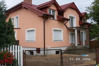 Duży dom z autorskimi zwornikami 1