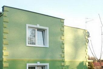 Boniowanie na dwukondygnacyjnym budynku 2