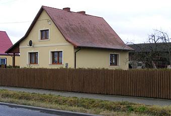 Proste i eleganckie wykończenie domu jednorodzinnego