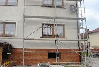 Ramy okienne ze wspornikami i zwornikami 2