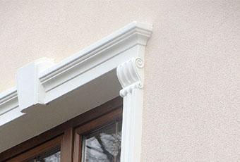 Ramy okienne ze wspornikami i zwornikami 3