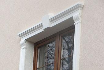 Ramy okienne ze wspornikami i zwornikami 4