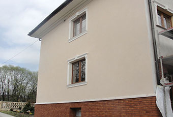 Ramy okienne ze wspornikami i zwornikami 5