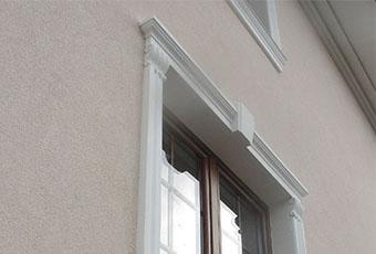 Ramy okienne ze wspornikami i zwornikami 7