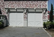 pomysł na oryginalną elewację garażu