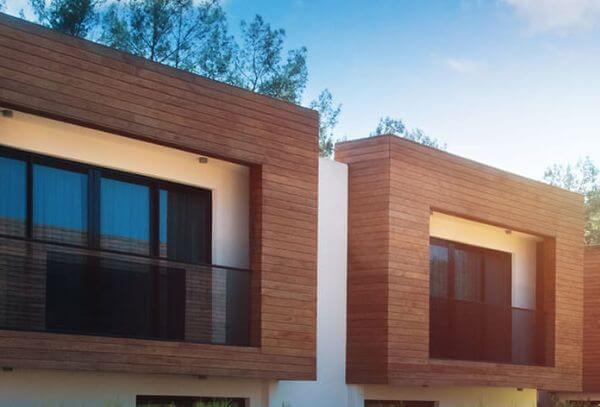 Elewacja drewniana domu