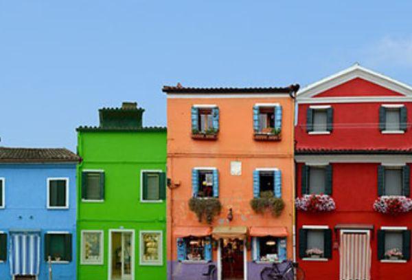 Kolory elewacji domów