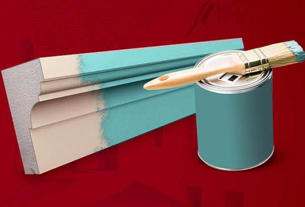 Malowanie sztukaterii styropianowej na elewacji
