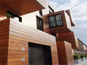 Drewniane elewacje domów