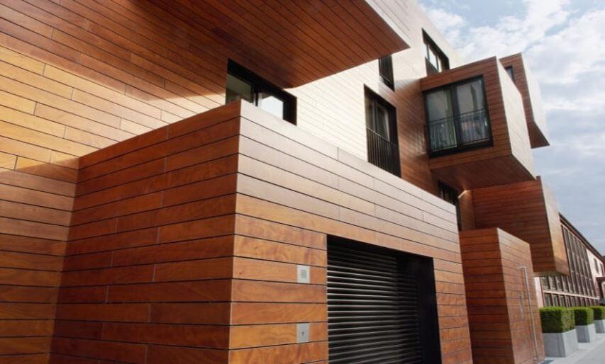 Groovy Elewacja Drewniana Domu - Montaż z Drewnem i Cena TG27