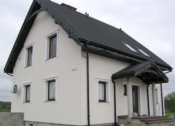 Kolory Elewacji Domow Zdjecia Galeria Domow Jednorodzinnych