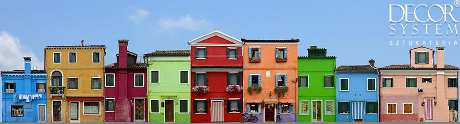 kolory elewacji domów zdjęcia