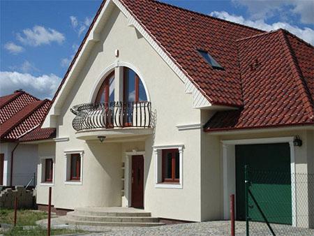 Wyjątkowe kolory elewacji domów