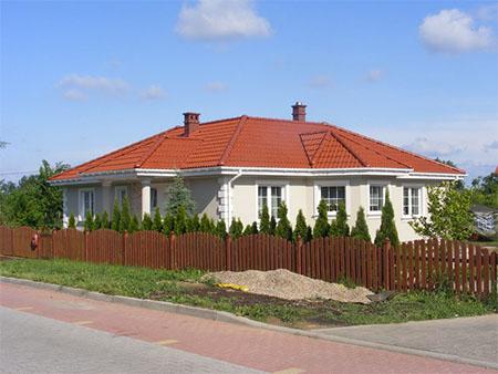 Nowoczesne kolory elewacji domów