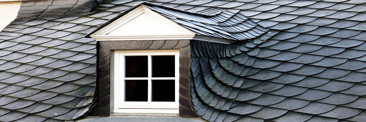 Nowoczesna lukarna w dachu