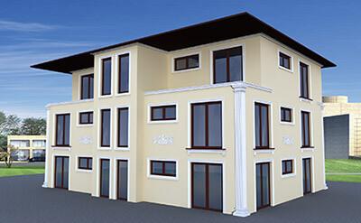 Wizualizacja domu jednorodzinnego cena